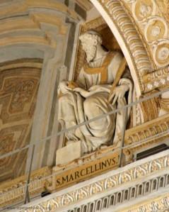 Pope, St Marcellinus I, Martyr