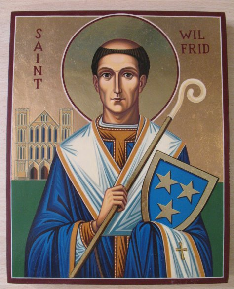 Carissimi: Today's Mass; St Wilfrid of York, Apostle of the South Saxons