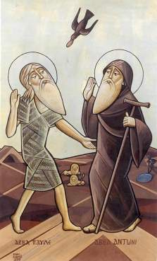antony the great and paul the hermit
