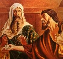 Judas 30 pieces of silver