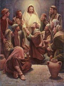 Jesus disciples risen