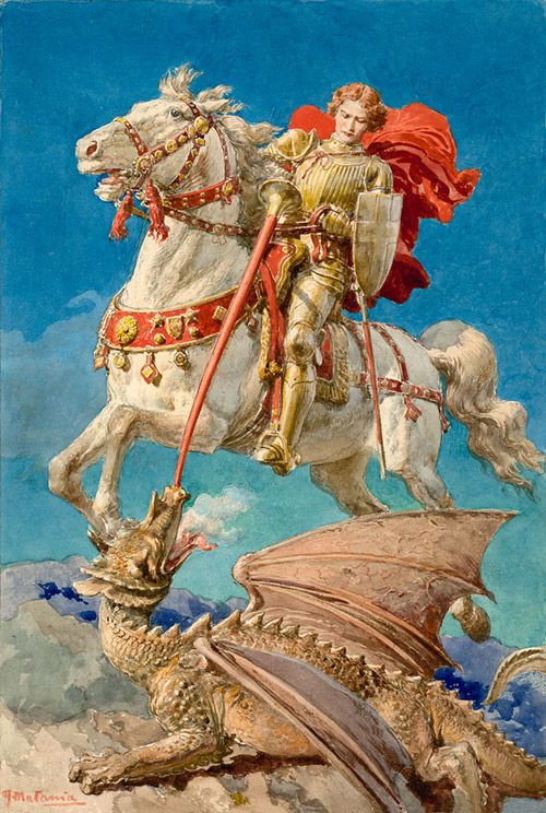 Carissimi; Today's Mass: Octave Day of St George, Martyr, Patron of England  – The Brighton Oratory