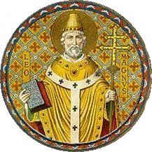 Saint_Leo_The_Great_Doctor_of_The_Church_Round