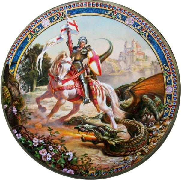 Carissimi; Today's Mass: Feria in the Octave of St George, Martyr, Patron of England