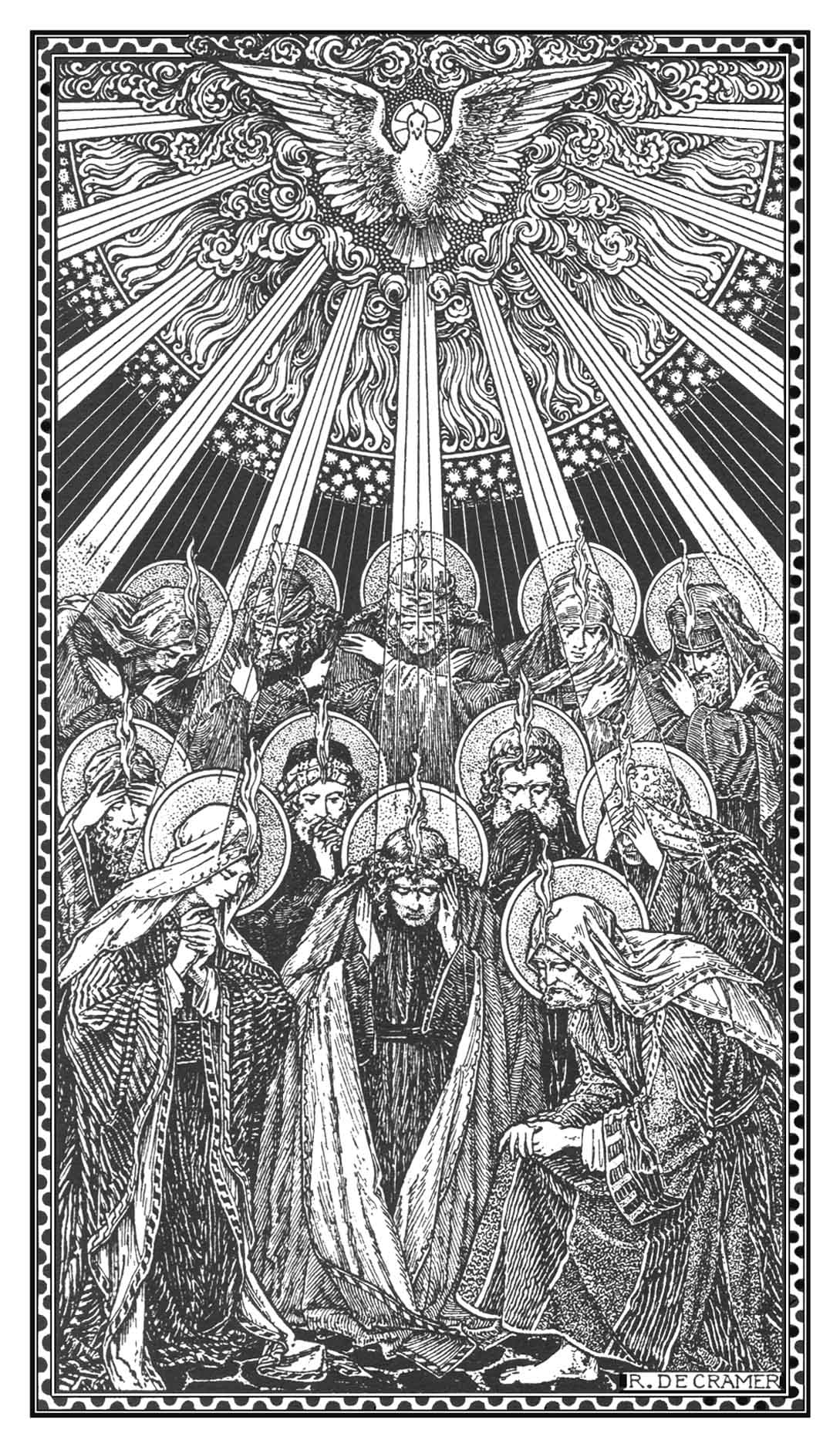 Carissimi; Today's Mass: The Vigil of Pentecost