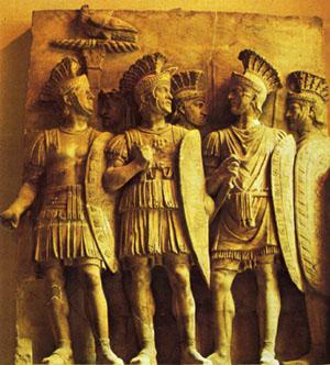 sveti Bazilid in tovariši - vojak in rimski mučenci