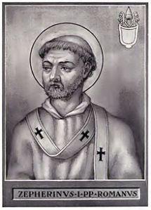 Pope_Zephyrinus