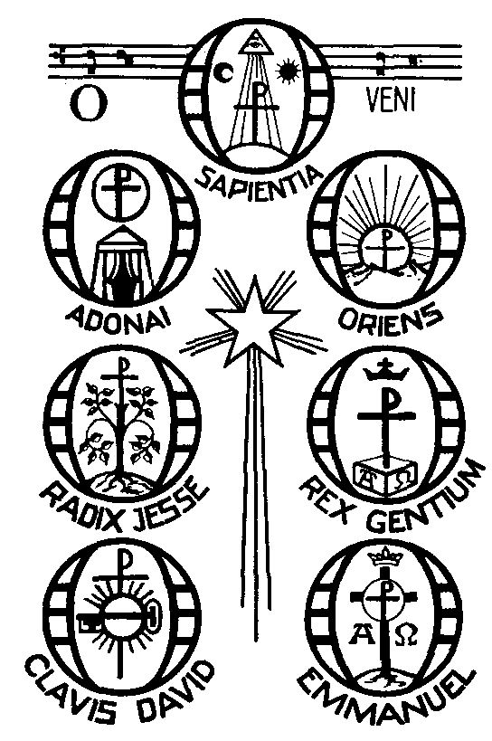 """seven """"O Antiphons"""" begin, (also called the """"Greater Antiphons ..."""