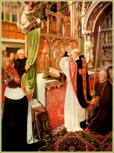 The Mass of St. Giles THE MASTER OF ST. GILES c. 1490