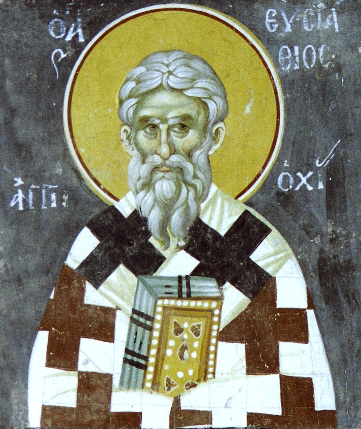 Carissimi: Today's Mass; St Eustathius of Antioch