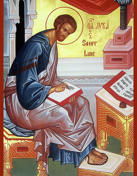 Carissimi: Today's Mass; St Luke the Evangelist
