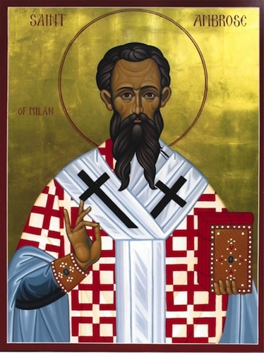 Carissimi: Today's Mass; St Ambrose, Bishop Confessor, Doctor of the Church