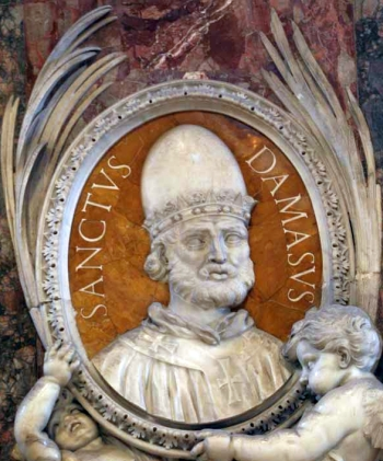 Carissimi: Today's Mass; St Damasus I, Pope & Confessor