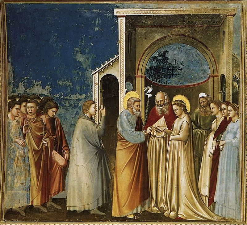 Carissimi: Today's Mass; The Espousal of the Blessed Virgin Mary with St Joseph
