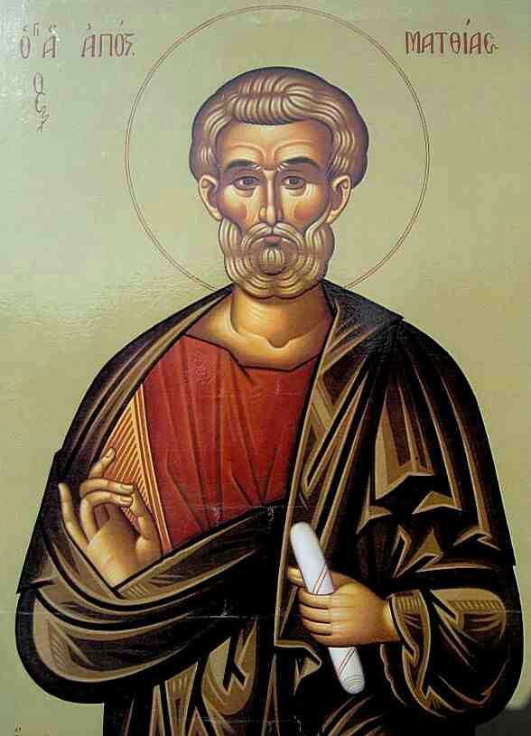 Carissimi: Today's Mass; St Matthias, Apostle