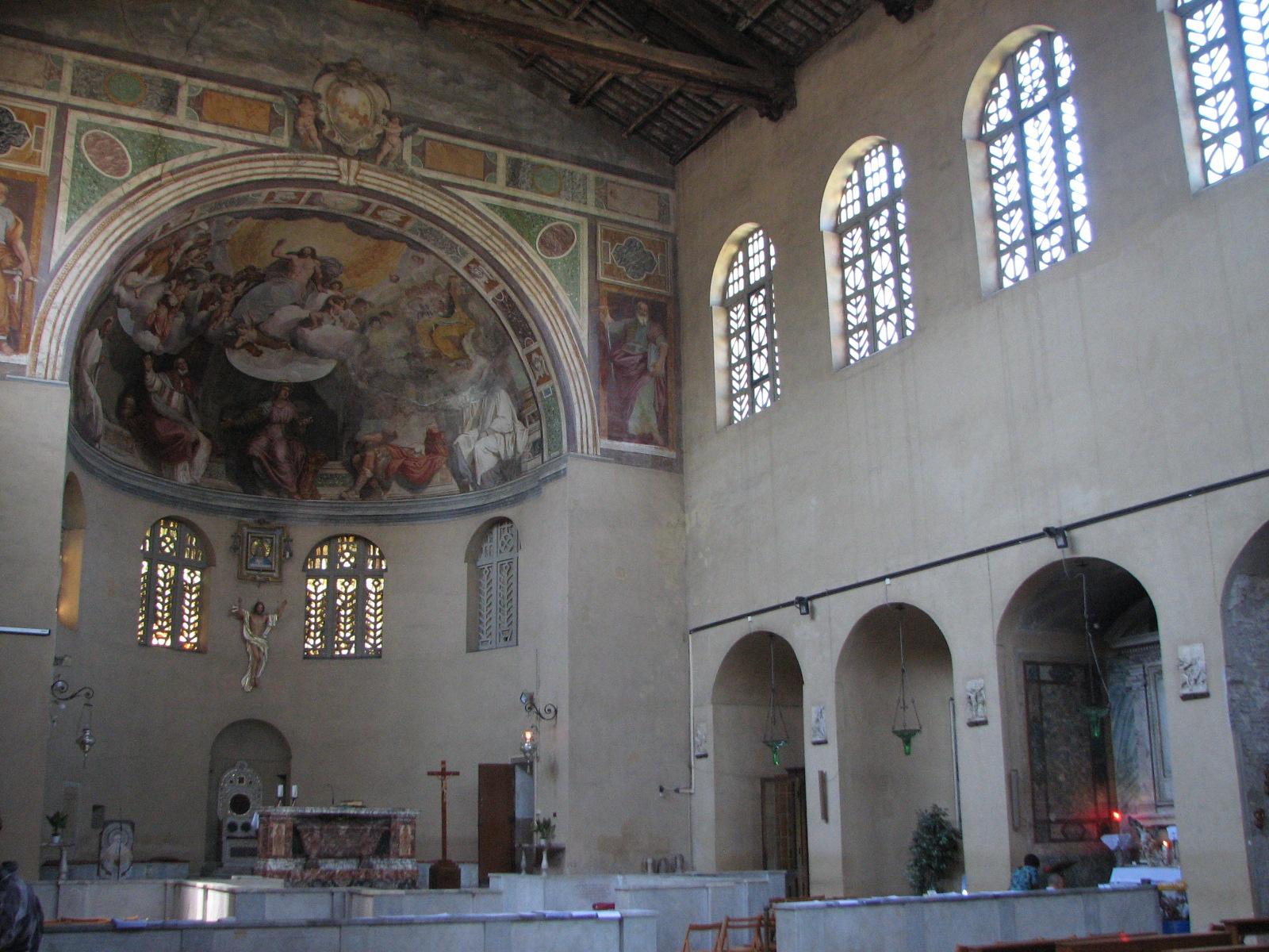 Station Tuesday Lent II: Statio ad St Balbinam
