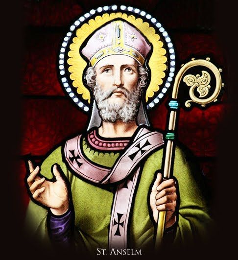 Carissimi: Today's Mass; St Anselm of Canterbury