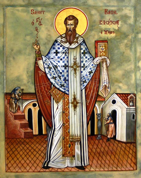 Carissimi: today's Mass; St Basil the Great, Doctor of the Church