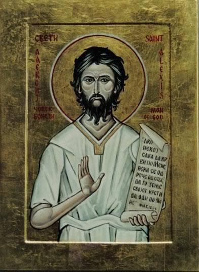 Carissimi: Today's Mass; St Alexius, Confessor