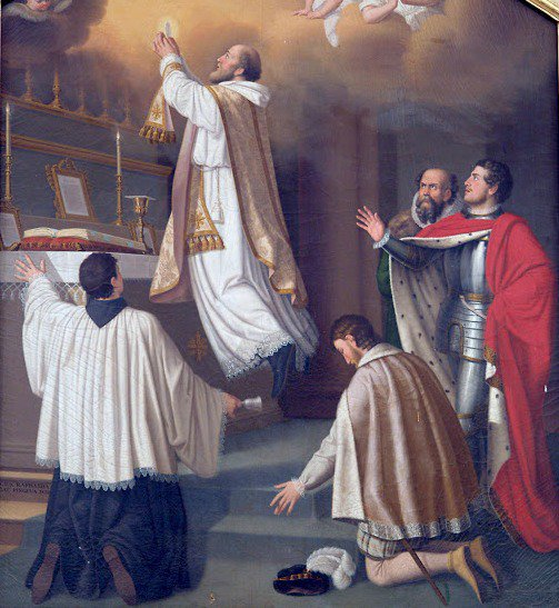 Carissimi: Today's Mass; St. Joseph of Cupertino