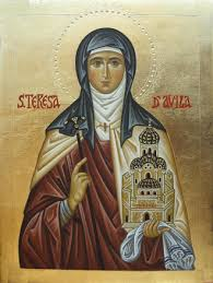 Carissimi: Today's Mass; St Teresa of Avila